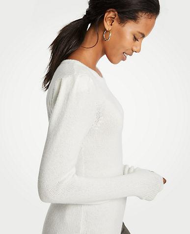 앤테일러 Ann Taylor Puff Shoulder Sweater