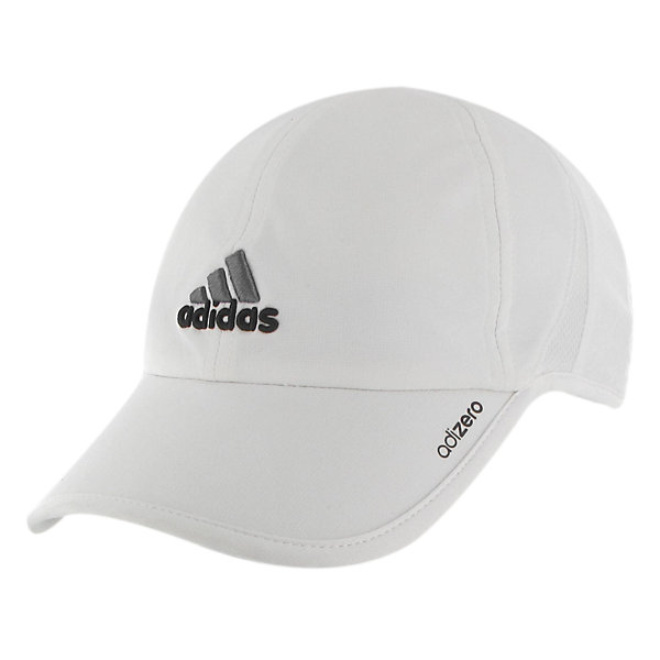 Adizero II Cap, White/Black/Sharp Grey, large