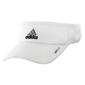 Adizero Ii Visor, White/Black/Sharp Grey