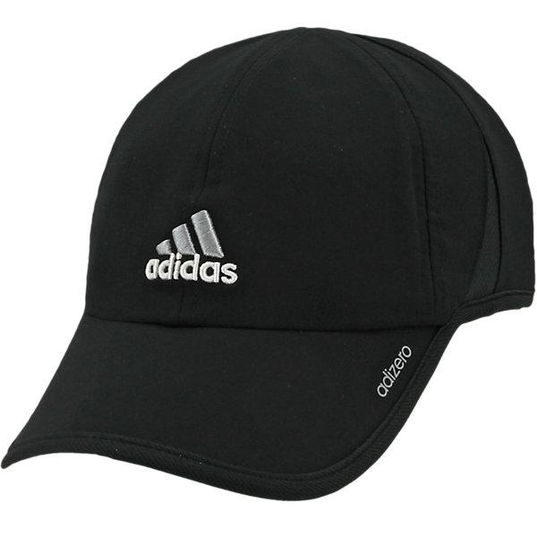 Adizero II Cap, Black/Aluminum 2/White, large