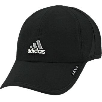 Adizero II Cap, Black/Aluminum 2/White