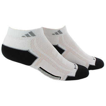 Climacool 2-Pack Low Cut, White/black/aluminum 2