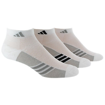 Women's Climacool Superlite 3-Pack Low Cut, White/Lt Onix White/Black/Lt Onix White/Lt Onix