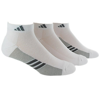 Climacool Superlite 3-Pack Low Cut, White/Light Onix/Medium Lead