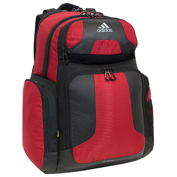 Climacool Team Strength Backpack, Power Red, large