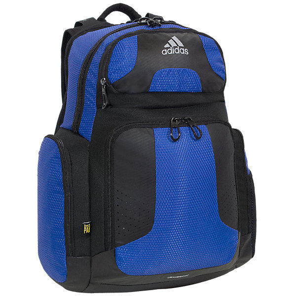 Climacool Team Strength Backpack, Bold Blue/Black, large