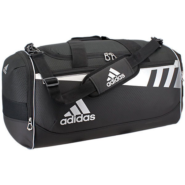 Team Issue Medium Duffel, Black/Silver, large