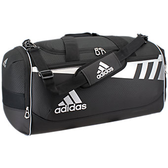 Team Issue Medium Duffel, Black/Silver