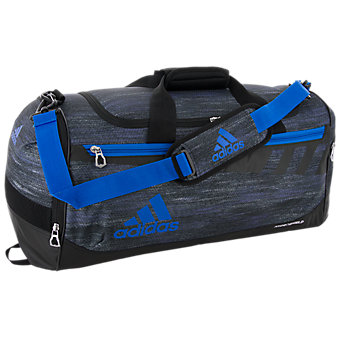 Team Issue Medium Duffel, Macro Heather Black/Shock Blue