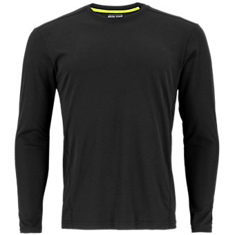 Climalite Single Long-Sleeve Crew, Black