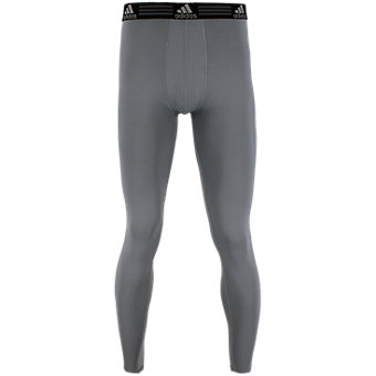 Men's Climalite Single Baselayer Pant, Grey
