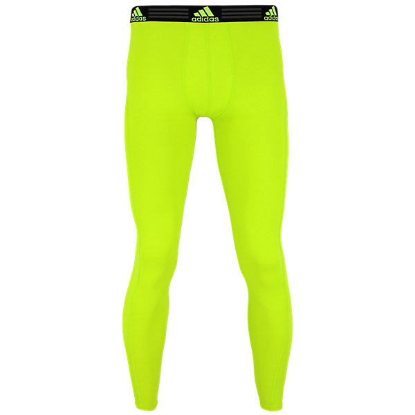 Climalite Single Baselayer Pant, Semi Solar Slime, large