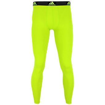Climalite Single Baselayer Pant, Semi Solar Slime