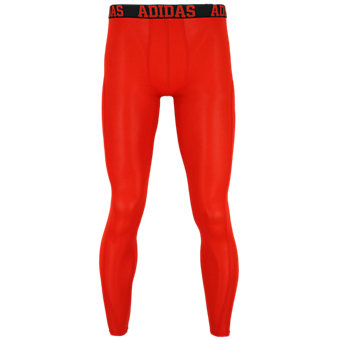 Men's Climacool Single Baselayer Pant, Hi Res Red