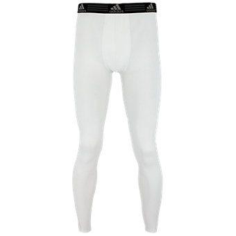 Men's Climalite Single Baselayer Pant, White