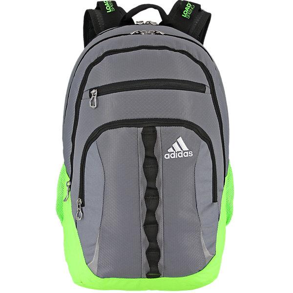 Prime II Backpack, Grey/solar Green/black, large