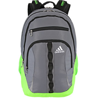 Prime II Backpack, Grey/solar Green/black