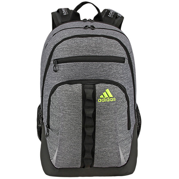 Prime II Backpack, Heather Granit/black/solar Yellow, large