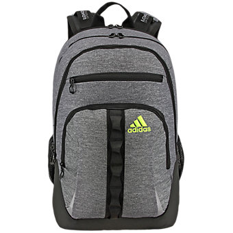 Prime II Backpack, Heather Granit/black/solar Yellow