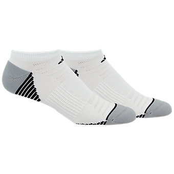 Superlite Speed Mesh 2-Pack No Show, White/Aluminum 2 Marl/Black