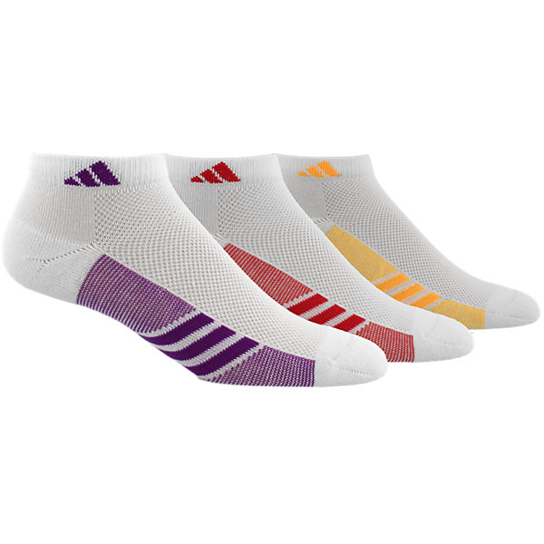 Climacool Superlite 3-Pack Low Cut, White/Shock Purple/Core Pink/Solar Gold, large