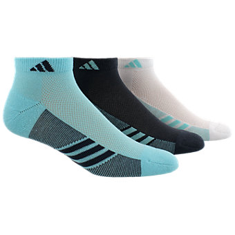 Climacool Superlite 3-Pack Low Cut, Clear Aqua/Bold Onix/White
