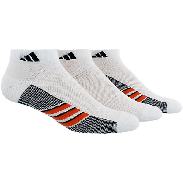 Climacool Superlite 3-Pack Low Cut, White/Energy Red/Black, large