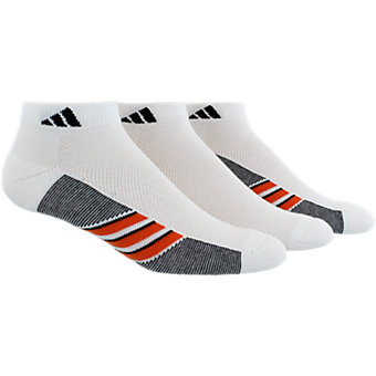 Climacool Superlite 3-Pack Low Cut, White/Energy Red/Black