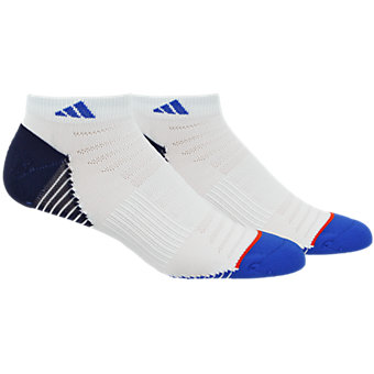 Superlite Speed Mesh 2-Pack Low Cut, White/Blue/Collegiate Navy/Energy Red