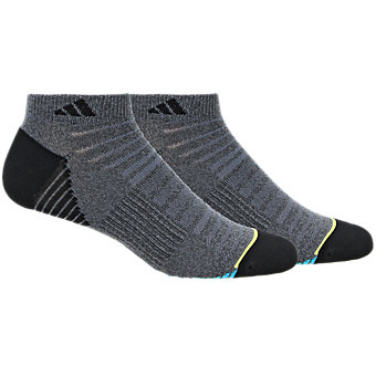 Superlite Speed Mesh 2-Pack Low Cut, Dark Grey Marl/Black/Lab Green/Bright Yellow