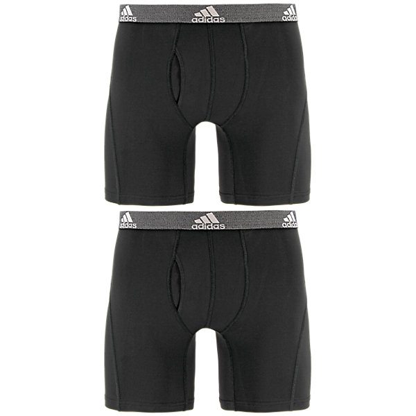 Relaxed Performance Climalite 2-Pack Boxer Brief, Black Black, large