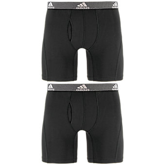 Relaxed Performance Climalite 2-Pack Boxer Brief, Black Black