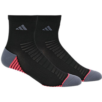 Superlite Speed Mesh 2-Pack Quarter, Black/Onix/Flash Red