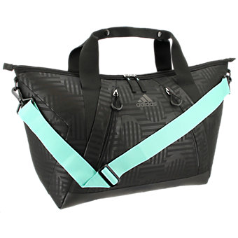 Studio Ii Duffel, Black Dot Punch Emboss/Black/Easy Green