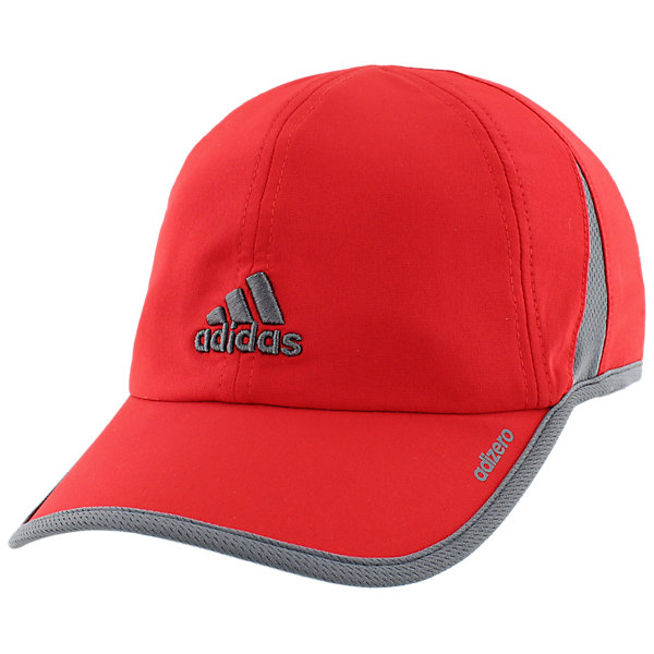 Adizero II Cap, Scarlet/Onix, large