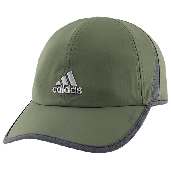Adizero Ii Cap, Base Green/Dark Grey/Grey, large