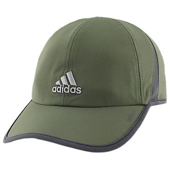 Adizero II Cap, Base Green/Dark Grey/Grey