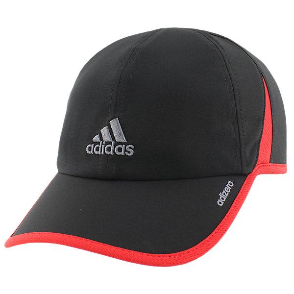 Adizero II Cap, Black/Scarlet/Onix, large