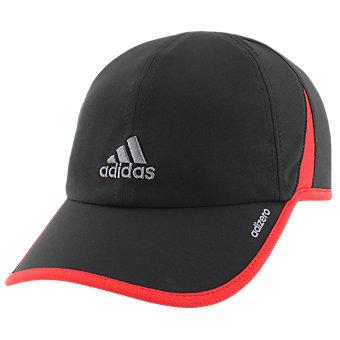 Adizero II Cap, Black/Scarlet/Onix