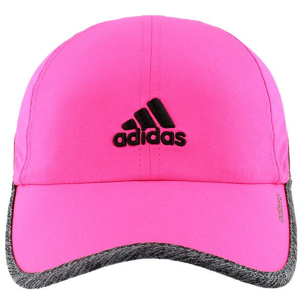 Adizero Ii Cap, Shock Pink/Dark Grey Heather/Black, large