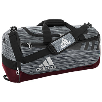 Team Issue Medium Duffel, Grey Loopermaroonblackwhite