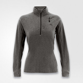 Hiking Reachout Fleece, Gray