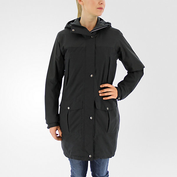 Climaproof Insulated Parka, Black, large