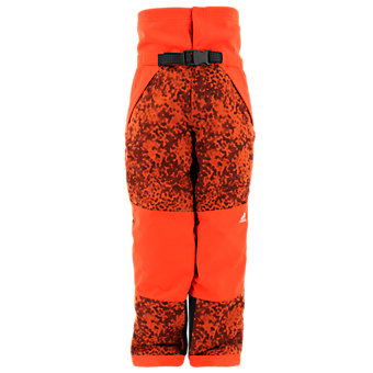 Boys/Girls Snowfun Pant, Bold Orange/Vista Gray