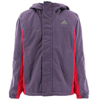 Kids Climaproof Insulated Hood, Ash Purple/Vivid Berry