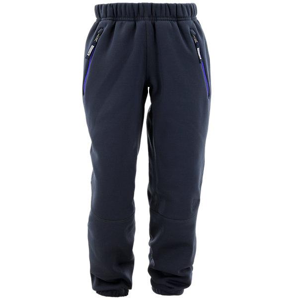 Kids 1 Sided Fleece Pant, Midnight Gray, large