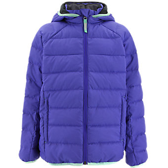 Kids Froosty Hooded Jacket, Night Flash