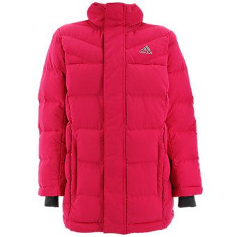 Kids Heatmax Hooded Jacket, Vivid Berry/Ash Purple