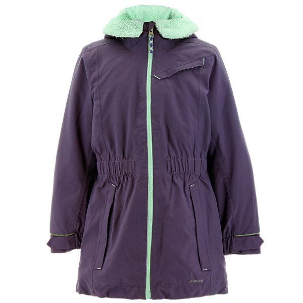 Girls Climaproof Storm Parka, Ash Purple, large