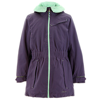 Girls Climaproof Storm Parka, Ash Purple